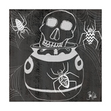 Skull and Caldron Posters by Shanni Welsh