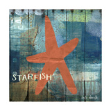 Starfish Collage Posters by Katie Doucette