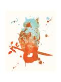 Uggla Posters av Anna Quach