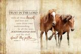 Trust in the Lord Posters af Jennifer Pugh