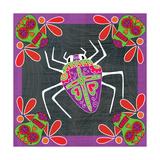 Day of the Dead-Spider 3 Plakat af Shanni Welsh