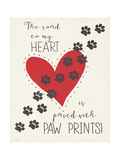 Paw Prints Posters by Jo Moulton