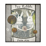 Two Rabbits Pale Ale Print by Sarah Ogren