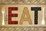 Eat Poster von Jennifer Pugh