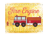 Fire Rescue Posters by Jennifer Pugh