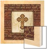 I Will Fear No Evil Wood Print by  Artique Studio