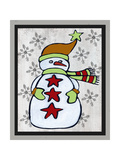 Snowman Two-Craft Posters by Shanni Welsh