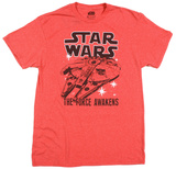Star Wars The Force Awakens- Twice T-Shirt