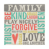 Family Rules Art by Katie Doucette