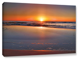 Sunrise Over Assateague , Gallery-Wrapped Canvas Stretched Canvas Print by Steve Ainsworth