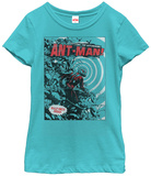 Young Girls: Ant-Man- Half-Inch Hero T-shirts