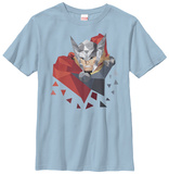 Youth: Thor- Low Poly Tshirts