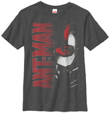 Youth: Ant-Man- Logo Face T-shirts
