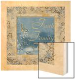 Family Wood Print by  Artique Studio
