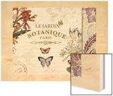 Botanical Garden II Wood Print by Piper Ballantyne