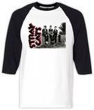 Long Sleeve: Stray Cats- Three Cats Raglan Koszulka