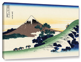 Mt Fuji In The Sunset, Gallery-Wrapped Canvas Stretched Canvas Print by Katsushika Hokusai
