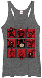 Juniors Tank Top: Daredevil- Panels Womens Tank Tops