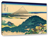 The Coast Of Seven Leages In Kamajura, Gallery-Wrapped Canvas Stretched Canvas Print by Katsushika Hokusai