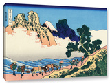 The Back Of The Fuji From The Minobu River, Gallery-Wrapped Canvas Stretched Canvas Print by Katsushika Hokusai