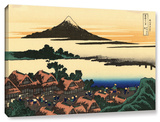 Dawn At Isawa In The Kai Province , Gallery-Wrapped Canvas Stretched Canvas Print by Katsushika Hokusai