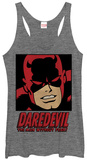 Juniors Tank Top: Daredevil- Man Without Fear Tank Top
