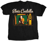 Elvis Costello- Vintage TV T-shirts