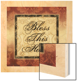Bless This Home Wood Print by Piper Ballantyne