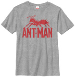 Youth: Ant-Man- Logo Shirts