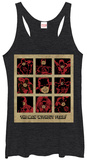 Juniors Tank Top: Daredevil- Man Without Fear Panels Womens Tank Tops