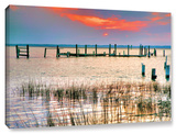 Sunset Bay Iii, Gallery-Wrapped Canvas Stretched Canvas Print by Steve Ainsworth