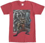 Rocket Racoon- Racoon Gun T-shirts