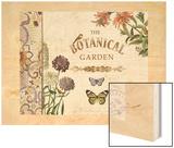 Botanical Garden I Wood Print by Piper Ballantyne