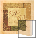 Real Love Stories Wood Print by Piper Ballantyne