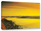Mellow Yellow Morning, Gallery-Wrapped Canvas Stretched Canvas Print by Steve Ainsworth