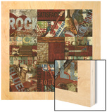 Rock and Roll 9-Patch Wood Print by Eric Yang