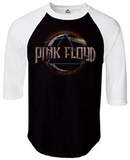 Long Sleeve: Pink Floyd- Dark Side Raglan - Tişört