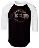 Long Sleeve: Pink Floyd- Dark Side Raglan - T shirt