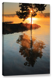 Mists On Fire, Gallery-Wrapped Canvas Stretched Canvas Print by Steve Ainsworth