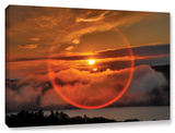 Circle Around Sun, Gallery-Wrapped Canvas Stretched Canvas Print by Steve Ainsworth