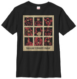 Youth: Daredevil- Man Without Fear Panels T-Shirt