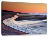 Tide Pools At Sunrise, Gallery-Wrapped Canvas Stretched Canvas Print by Steve Ainsworth