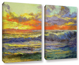 Califonia Dreaming, 2 Piece Gallery-Wrapped Canvas Set Poster by Michael Creese
