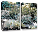 Botanical Garden, 2 Piece Gallery-Wrapped Canvas Set Posters by Linda Parker