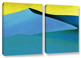 Evening At The Dunes, 2 Piece Gallery-Wrapped Canvas Set Prints by Linda Parker