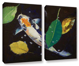 Kumonryu Koi, 2 Piece Gallery-Wrapped Canvas Set Gallery Wrapped Canvas Set by Michael Creese