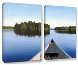 Paddle Muskoka, 2 Piece Gallery-Wrapped Canvas Set Gallery Wrapped Canvas Set by Ken Kirsh