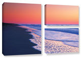 Lavender Sea I, 3 Piece Gallery-Wrapped Canvas Flag Set Gallery Wrapped Canvas Set by Steve Ainsworth