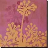 Rhythms I - 3R Stretched Canvas Print by Sally Bennett Baxley
