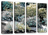 Botanical Garden, 4 Piece Gallery-Wrapped Canvas Set Posters by Linda Parker